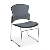 Multi-Use Fabric Seat & Back Stacker, Gray